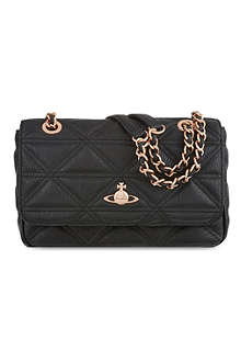 VIVIENNE WESTWOOD Small quilted shoulder bag
