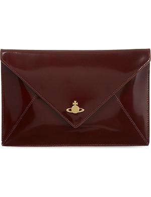 VIVIENNE WESTWOOD Leather iPad clutch