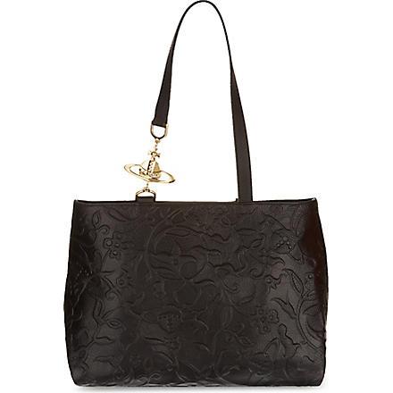 VIVIENNE WESTWOOD Hanover shoulder bag (Black