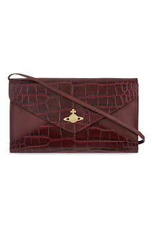 VIVIENNE WESTWOOD Medium snake embossed cross-body bag