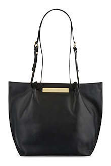VIVIENNE WESTWOOD Maddox large leather tote