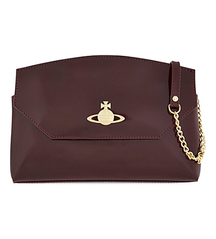 VIVIENNE WESTWOOD Monaco cross-body bag (Castagna