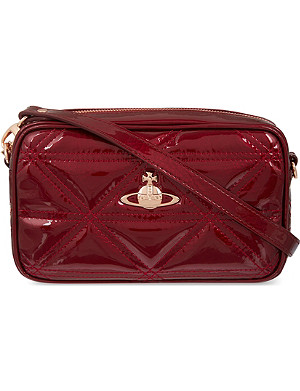 VIVIENNE WESTWOOD Sharlenemania quilted leather cross-body bag