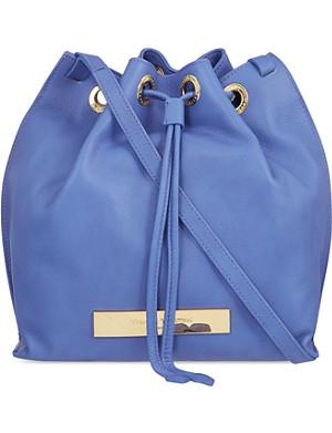 VIVIENNE WESTWOOD Maddox leather bucket bag