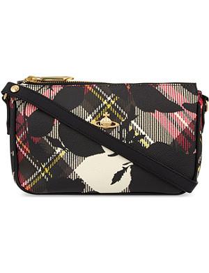 VIVIENNE WESTWOOD Balmoral Derby Roses shoulder bag