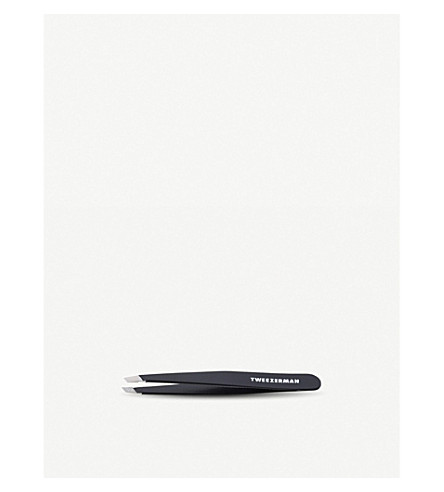 TWEEZERMAN Midnight Sky slant tweezer (Midnight+sky