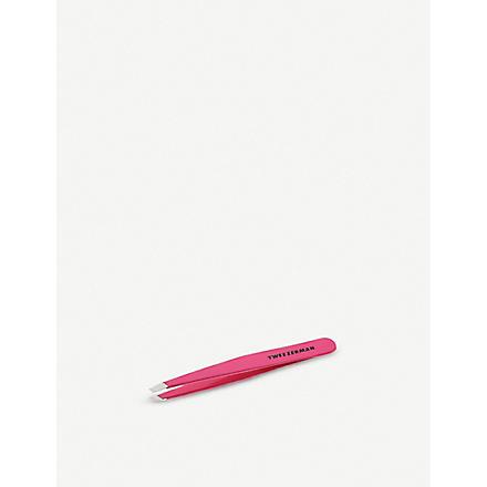 TWEEZERMAN Pretty in Pink slant tweezer