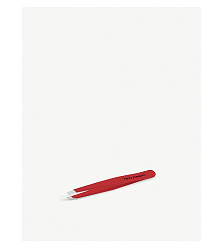 TWEEZERMAN Signature Red Slant tweezer (Signature+red