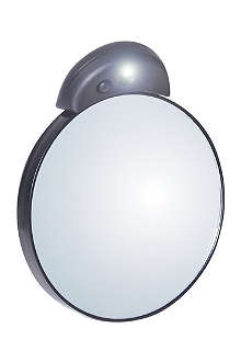 TWEEZERMAN Lighted 10x magnifying mirror