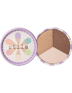 STILA Ice Cream Collection eyeshadow trio