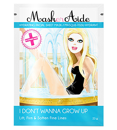 MASKERAIDE I Don't Wanna Grow Up hydrating mask