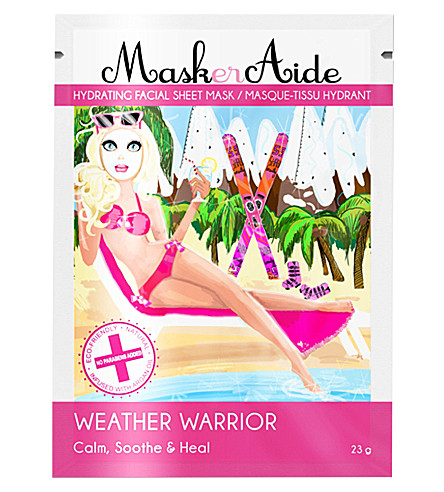 MASKERAIDE Weather Warrior hydrating mask