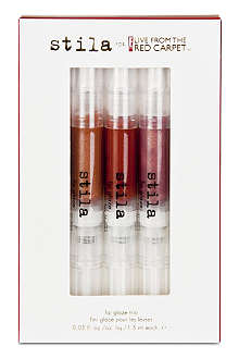 STILA Lip Glaze trio - Harvest