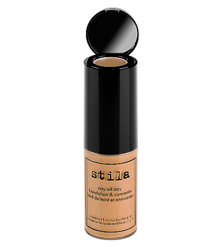 STILA Stay All Day foundation and concealer (Caramel