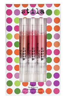 STILA Lip Glaze trio - Fiesta