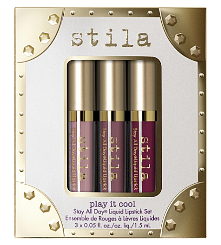 STILA Stay All Day Play It Cool liquid lipstick set