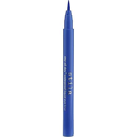 STILA Stay All Day waterproof liquid eyeliner (Cobalt