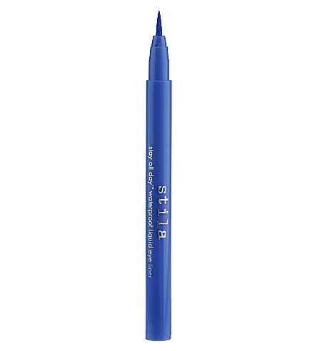 STILA Stay All Day waterproof liquid eyeliner (Cobalt
