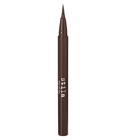 STILA Stay All Day waterproof liquid eyeliner (Dark+brown
