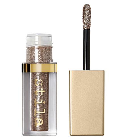 STILA Glitter and Glow liquid eyeshadow (Smoky+storm