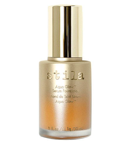 STILA Aqua Glow Serum Foundation (Tan+deep
