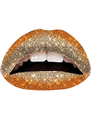 VIOLENT LIPS The Orange Spice Glitteratti Mix