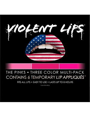 VIOLENT LIPS The Pinks