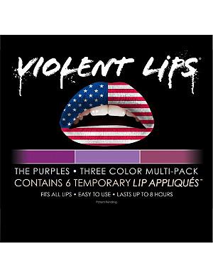 VIOLENT LIPS The Purples