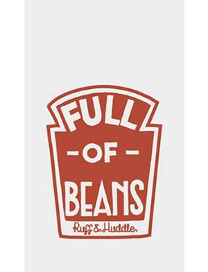 FASHION TATTOO Ruff and Huddle Beans temporary tattoo
