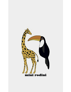 FASHION TATTOO Mini Rodini Giraffe temporary tattoo