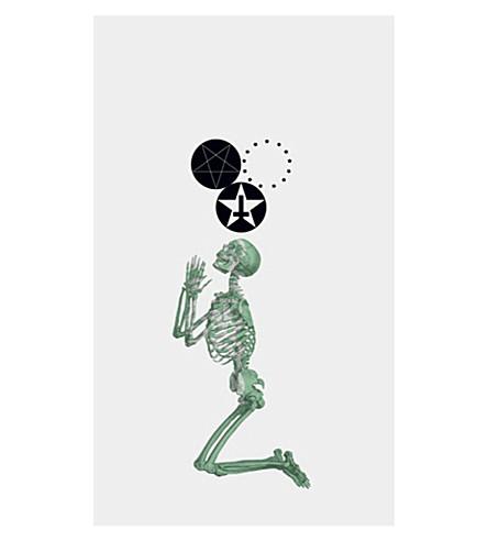 FASHION TATTOO Black Scale Skeleton temporary tattoo