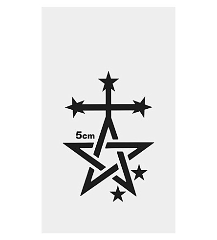 FASHION TATTOO I.T. 5cm star temporary tattoo