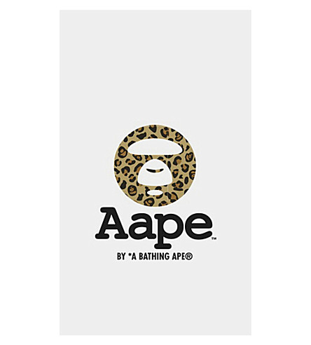 FASHION TATTOO A Bathing Ape leopard monkey tattoo