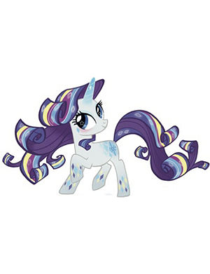 FASHION TATTOO My Little Pony temporary tattoo - Purple