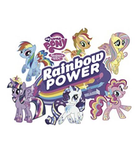 FASHION TATTOO My Little Pony rainbow power temporary tattoo