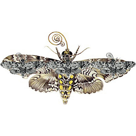 FASHION TATTOO Topshop moth temporary tattoo