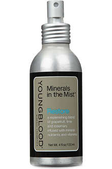 YOUNGBLOOD MINERAL COSMETICS Restore Minerals in the Mist facial spray