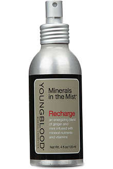 YOUNGBLOOD MINERAL COSMETICS Recharge Minerals in the Mist facial spray