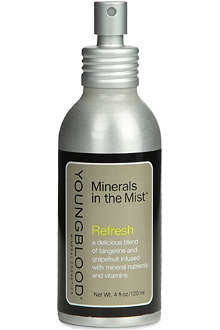YOUNGBLOOD MINERAL COSMETICS Refresh Minerals in the Mist facial spray 120ml