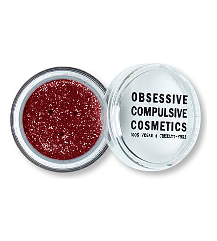 OBSESSIVE COMPULSIVE COSMETICS Cosmetic glitter (Red