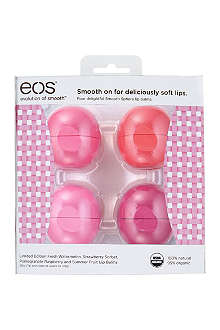 EOS Basket of Fruit lip balm gift set