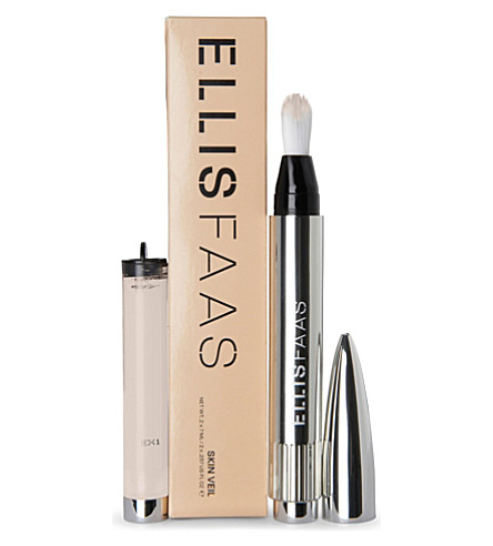 ELLIS FAAS Skin Veil foundation applicator with refill (S101+light/fair
