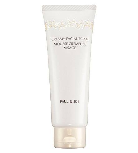 PAUL & JOE Creamy facial foam