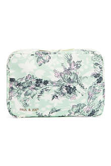 PAUL & JOE Floral make-up bag