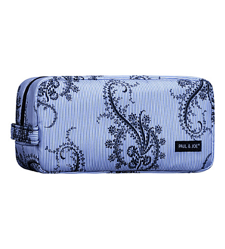 PAUL & JOE Paisley make-up bag (Blue+zip