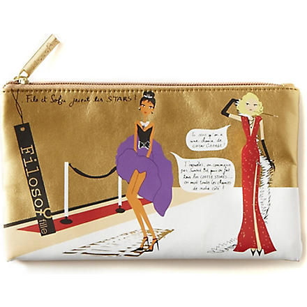 FILOSOFILLE Hollywood make-up bag