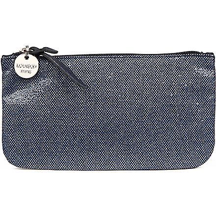 LOUISON Glitter make-up bag