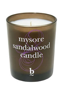 BLINK B Mysore Sandalwood candle