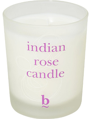BLINK B Indian Rose candle