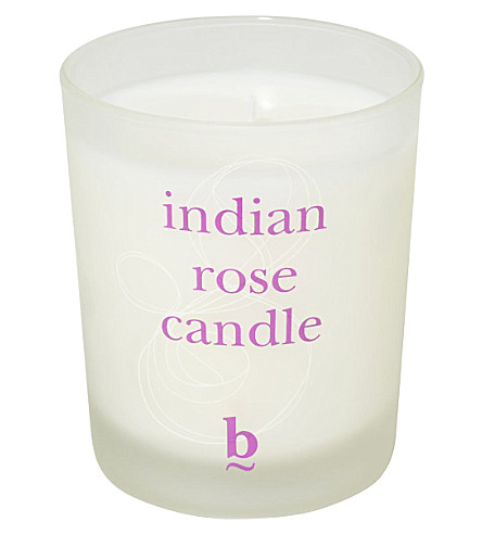 BBROWBAR B Indian Rose candle 200g